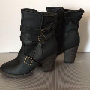 Brand new booties.